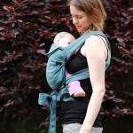 Réglage de l'assise et de la hauteur du porte-bébé