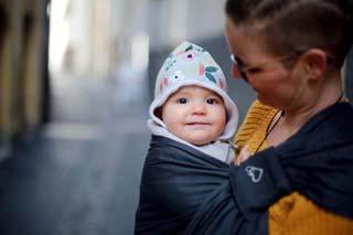 sling porte-bébé d'appoint protège-anneaux Ling Ling d'amour