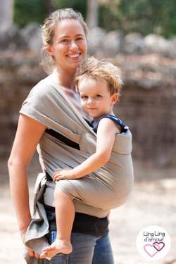 porte enfant 3 ans maxitai Ling Ling d'amour 1.0 physiologique Dune