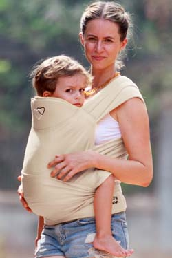 porte enfant 3 ans meitai preschool Maxi Tai LLA Dune